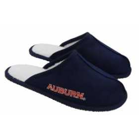 Forever Collectibles フォーエバー コレクティブル スポーツ用品  Auburn Tigers Wordmark Open Back Moccasin Slip