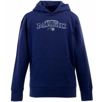 Antigua アンティグア スポーツ用品 Antigua Orlando Magic Youth Signature Pullover Hoodie - Royal Blue