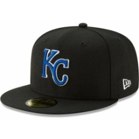 New Era ニュー エラ スポーツ用品  New Era Kansas City Royals Black Cooperstown Collection Alt Logo Pack 59FIFTY Fitte