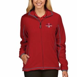 Antigua Real Salt Lake Womens Red Golf Full Zip Jacket スポーツ用品 Antigua アンティグア