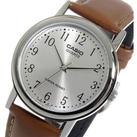 カシオ CASIO クオーツ メンズ 腕時計 MTP-1095E-7B シルバー シルバー