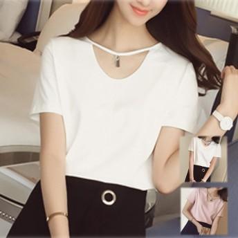 Tシャツ - shoppinggo Tシャツレディース カットソー 体型カバー 春服 夏服