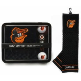Team Golf チーム ゴルフ スポーツ用品  Baltimore Orioles Embroidered Golf Towel Two Golf Balls and Divot Tool Gift Se