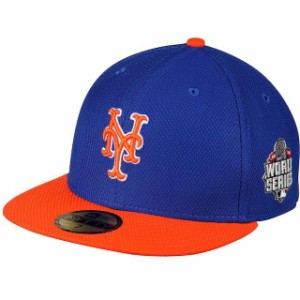New York Mets New Era Diamond Era 59Fifty Blue On Field Fitted Hat NWT