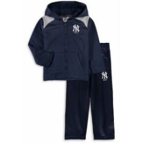 Majestic マジェスティック スポーツ用品  Majestic New York Yankees Toddler Navy Play Action Full-Zip Hoodie & Pants
