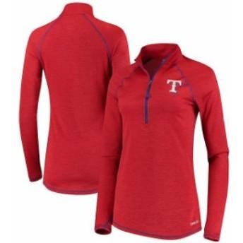 Majestic マジェスティック アウターウェア ジャケット/アウター Majestic Texas Rangers Womens Red Dont Stop