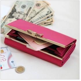 レディース 長財布 ROXY長財布 本革 おしゃれ リボン プレゼント かわいい カード入れ 雑貨 人気 女性 ギフト ウォレット 宅配便