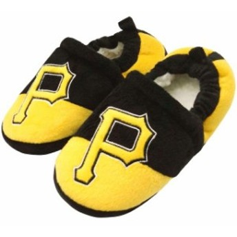 Forever Collectibles フォーエバー コレクティブル シューズ スリッパ Pittsburgh Pirates Toddler Colorblock Sl