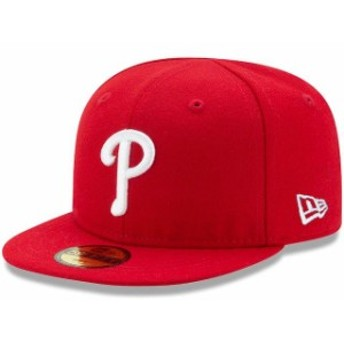 New Era ニュー エラ スポーツ用品 New Era Philadelphia Phillies Infant Red Authentic Collection On-Field My First 59F