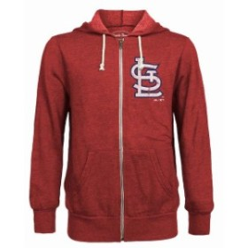 Majestic Threads マジェスティック スレッド スポーツ用品  Majestic Threads St. Louis Cardinals Red Distressed T