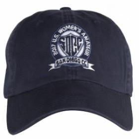 Ahead アヘッド スポーツ用品  Mens Ahead Navy 2017 U.S. Womens Amateur Solid Adjustable Hat
