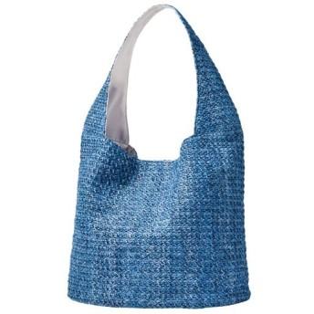 30%OFF夏素材バッグ - セシール ■カラー:ブルー