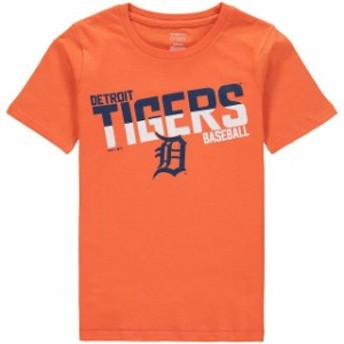 Outerstuff アウタースタッフ スポーツ用品 Detroit Tigers Youth Orange Alternate All Meshed Up T-Shirt