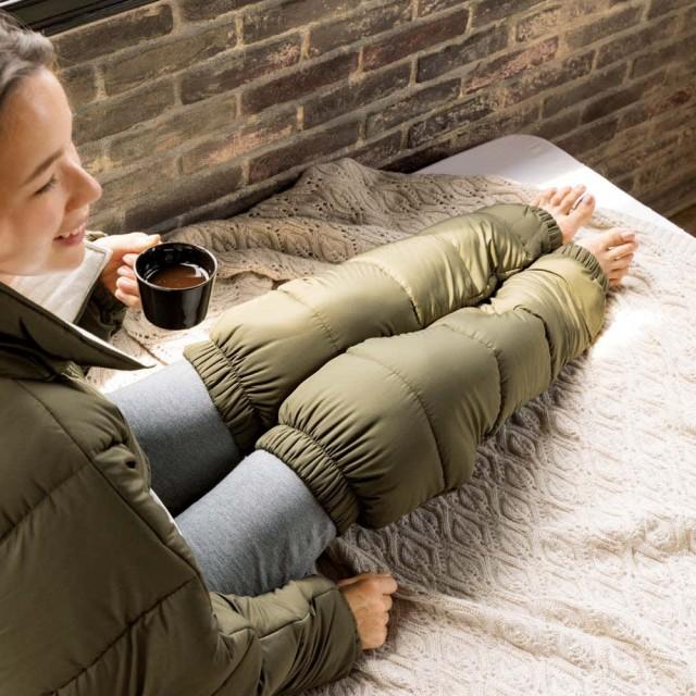 バージョンアップしました!昨冬人気のテイジンVーLap(R)使用 着る布団シリーズ 足カバーネイビー