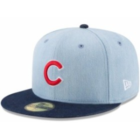 New Era ニュー エラ スポーツ用品  New Era Chicago Cubs Denim/Navy Levis Two-Tone 59FIFTY Fitted Hat
