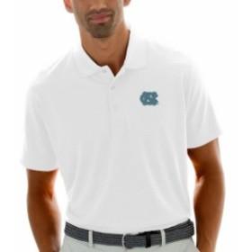 Vantage Apparel バンテージ アパレル スポーツ用品  North Carolina Tar Heels White Textured Stripe Polo