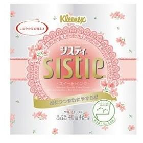 日本製紙クレシア トイレットペーパー クリネックス システィ スイートピンク 40m×4ロール ダブル