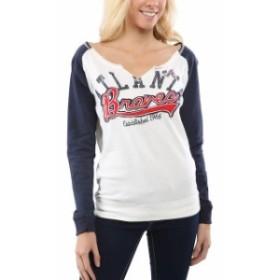 G-III 4Her by Carl Banks ジースリー フォーハー バイ カール バンクス スポーツ用品  Atlanta Braves Womens