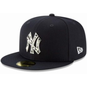 New Era ニュー エラ スポーツ用品  New Era New York Yankees Navy Fractured Metal 59FIFTY Fitted Hat