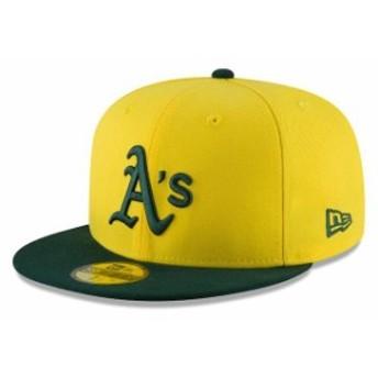 New Era ニュー エラ スポーツ用品 New Era Oakland Athletics Youth Yellow/Green 2018 Players Weekend On-Field 59FIFTY