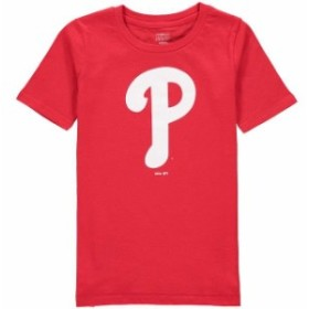Outerstuff アウタースタッフ スポーツ用品  Philadelphia Phillies Youth Red Primary Logo T-Shirt