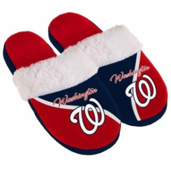 Forever Collectibles フォーエバー コレクティブル シューズ スリッパ Washington Nationals Womens Cursive Colo