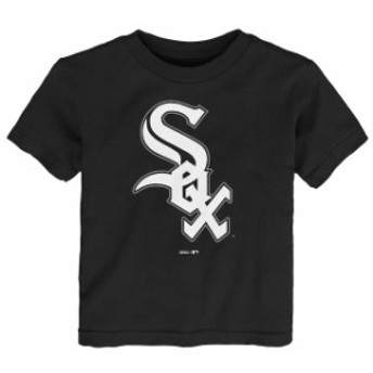 Outerstuff アウタースタッフ スポーツ用品 Chicago White Sox Toddler Black Primary Logo T-shirt
