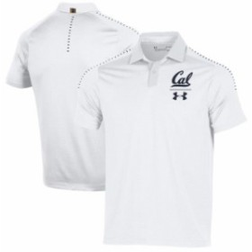 Under Armour アンダー アーマー スポーツ用品  Under Armour Cal Bears White 2018 Coaches Sideline Performance Polo