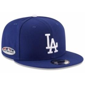 New Era ニュー エラ スポーツ用品  New Era Los Angeles Dodgers Royal 2018 Postseason Side Patch 9FIFTY Snapback Adjust