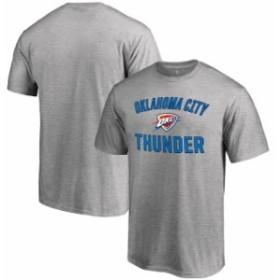 Fanatics Branded ファナティクス ブランド スポーツ用品  Oklahoma City Thunder Ash Big & Tall Victory Arch T-Shir