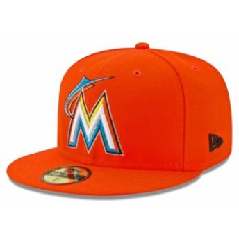 New Era ニュー エラ スポーツ用品 New Era Miami Marlins Orange 2017 All-Star Game Patch Authentic Collection On-Field