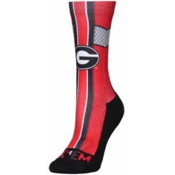 Rock Em ロックイーエム スポーツ用品 Georgia Bulldogs Womens Jersey Crew Socks