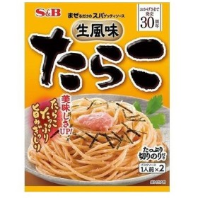 エスビー食品 4901002869878 まぜるだけのスパゲッティソース 生風味たらこ 26.7g2袋入