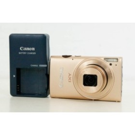 【中古】Canonキャノン コンパクトデジタルカメラ IXYイクシー 1210万画素 IXY 620F GL ゴールド