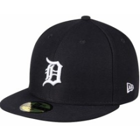 New Era ニュー エラ スポーツ用品  New Era Detroit Tigers Womens Navy Authentic Collection On-Field 59FIFTY Fitted Hat