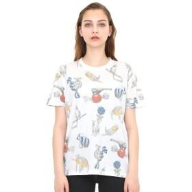 [マルイ]【セール】【ユニセックス】ソフト総柄Tシャツ/ボンボンアニマルズ/グラニフ(graniph)
