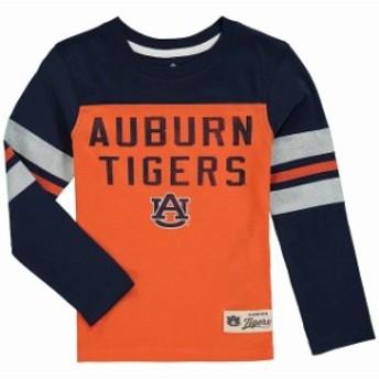 Outerstuff アウタースタッフ スポーツ用品 Auburn Tigers Preschool Navy Legacy Long-Sleeve Football T-Shirt