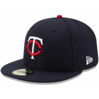 New Era ニュー エラ スポーツ用品 New Era Minnesota Twins Youth Navy Authentic Collection On-Field Home 59FIFTY Fitte