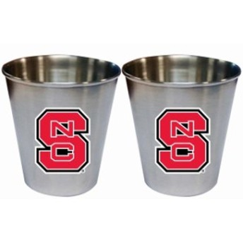 The Memory Company ザ メモリー カンパニー スポーツ用品 NC State Wolfpack 2oz. Stainless Steel Collector Cups Tw