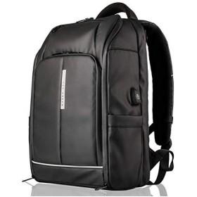 レットドリームLETDREAM リュック メンズ 大容量 ビジネス 通勤 出張 ビジネスバッグ ldr01805 ブラック
