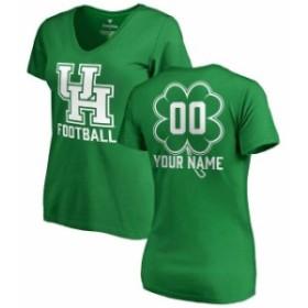 Fanatics Branded ファナティクス ブランド スポーツ用品  Fanatics Branded Houston Cougars Womens Kelly Green Pers