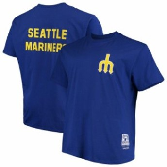 Mitchell & Ness ミッチェル アンド ネス スポーツ用品 Mitchell & Ness Seattle Mariners Royal Big & Tall Coopersto