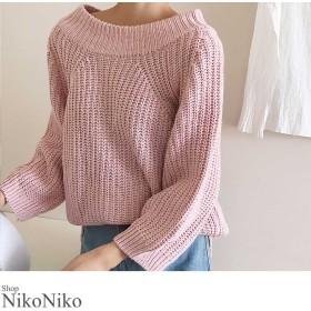 ニット・セーター - ShopNikoNiko 秋冬新作 2wayケーブルニット トップス ニット レディース ケーブルニット 2way