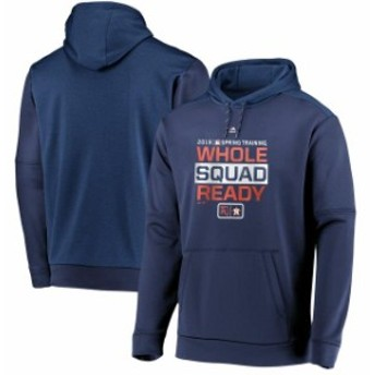 Majestic マジェスティック スポーツ用品 Majestic Houston Astros Navy Authentic Collection Spring Training Pullover