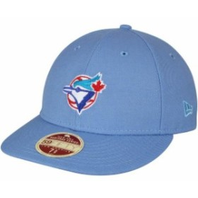 New Era ニュー エラ 服  New Era Toronto Blue Jays Light Blue Cooperstown Collection Vintage Fit 59FIFTY Fitted Hat