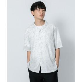 SENSE OF PLACE(センスオブプレイス) トップス シャツ・ブラウス マーブルシャツ(5分袖)
