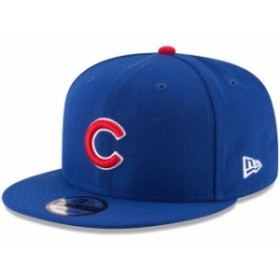 New Era ニュー エラ スポーツ用品  New Era Chicago Cubs Royal Team Color 9FIFTY Adjustable Hat