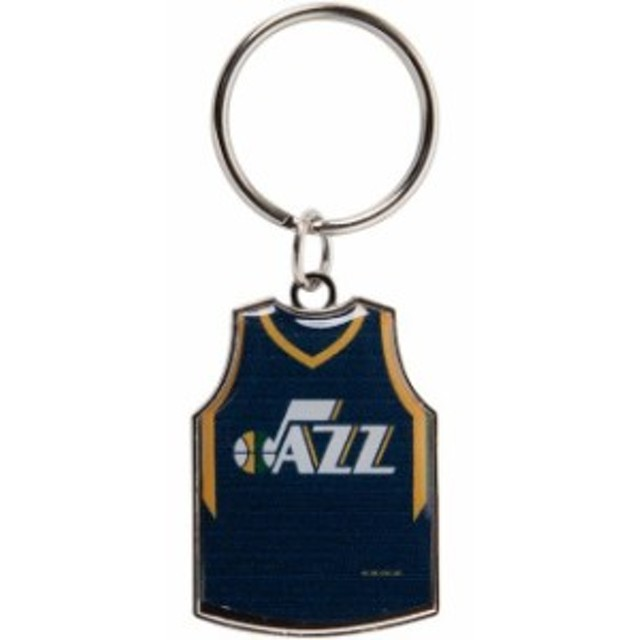 Aminco アミンコ スポーツ用品  Utah Jazz Reversible Home/Away Jersey Keychain
