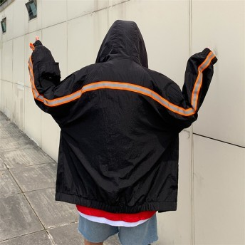 [55555SHOP] 【日焼け止め服】2019春夏新入荷 学院風 韓国風 日焼け止め アウター 長袖 春夏遊 メンズファッション ゆったり ジャケット 紫外線対カジュアル コート