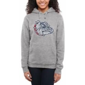 Fanatics Branded ファナティクス ブランド スポーツ用品  Gonzaga Bulldogs Womens Ash Classic Primary Pullover Hoo